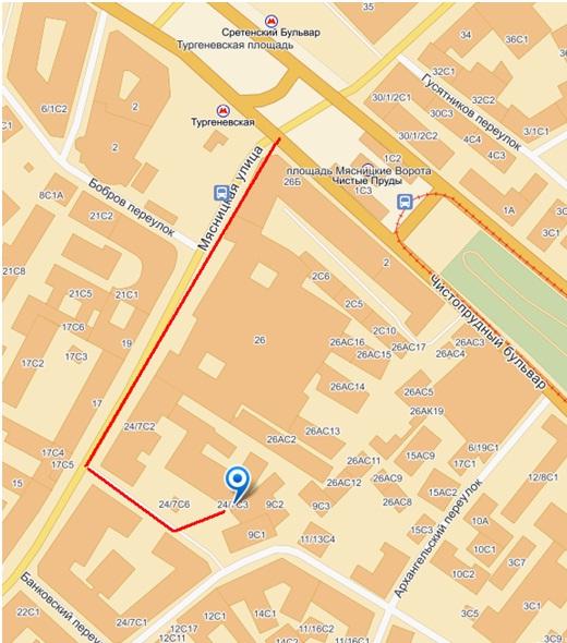 Карта предоставлена сайтом